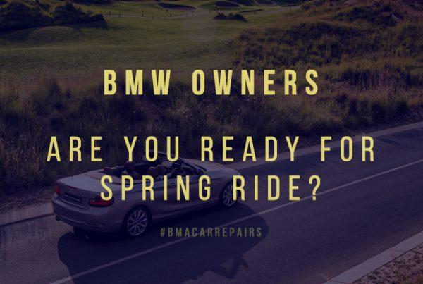 bmw maintenance tips spring